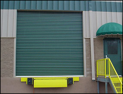 Commercial-Grade Steel Curtain Roll-Up Door from DBCI