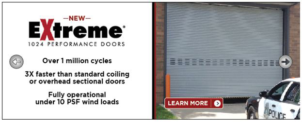 Extreme Performance Doors from Cornell Iron Works