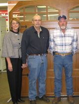Denise Thornton, Secretary; Dennis Thornton, co-owner; David Thornton, co-owner; Donna Thornton, Treasurer